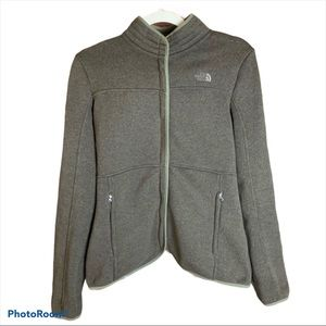 The North Face Front Zip Sweater Jacket Medium
